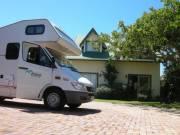 De camper is groter dan ons eigen huisje!