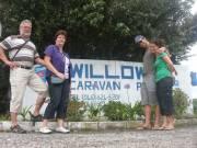 Willows Caravan park in hartje Port Alfred