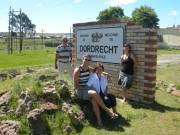 Op weg naar Indwe komen we door Dordrecht