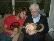 Grandpa likes snakes too!!
